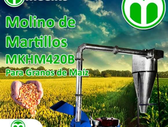 Molino de Martillos MKHM420B ara Granos de Maíz