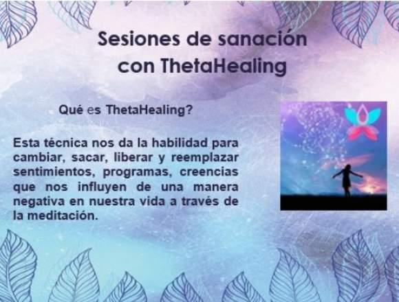 Sesiones de sanación con ThetaHealing