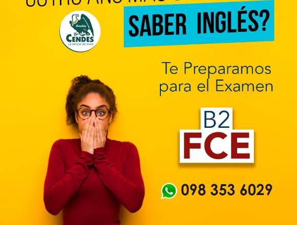 Curso preparatorio examen B2 FCE