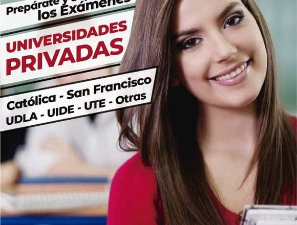Examen de admisión a Universidades Privadas