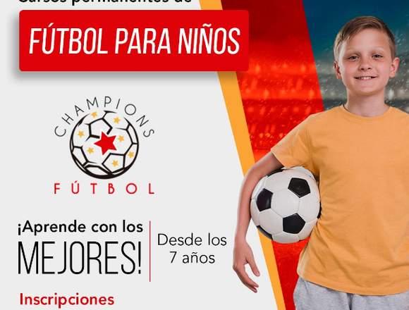 Curso de fútbol para niños Quito