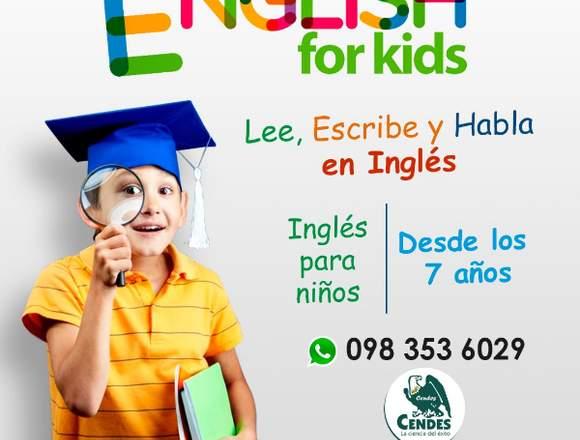 Clases de inglés para niños Quito