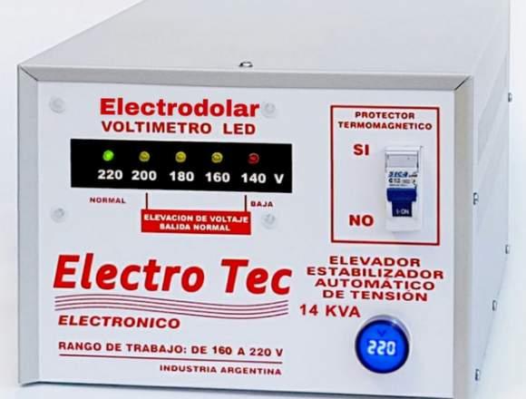 Elevador Automático De Tensión 14Kva (011)4849747