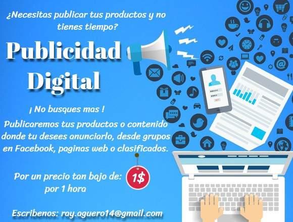 Publicidad Digital para su negocio