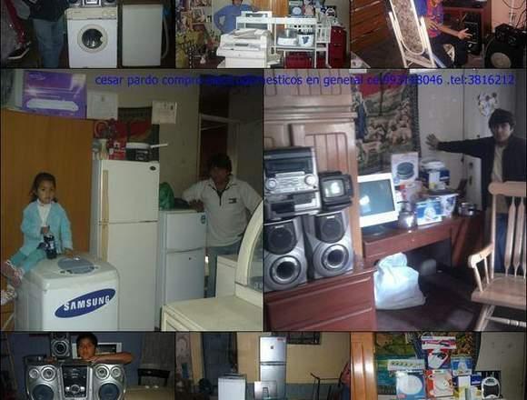 compro electrodomesticos y cosas que ya no dan uso