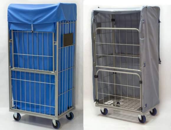 Innen- und außen- Textil- Containerhauben