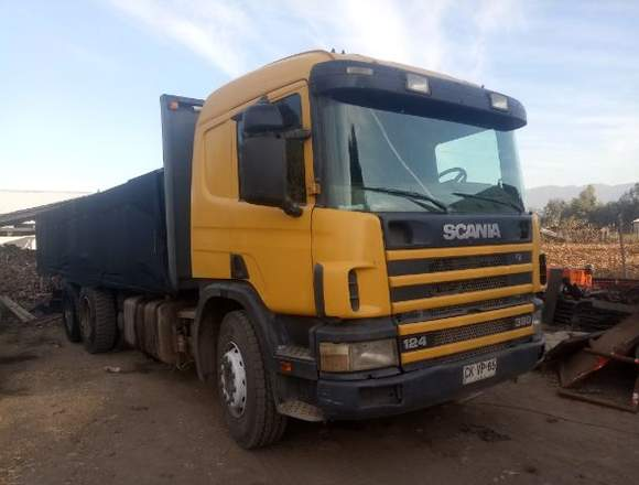 Camion scania p124 motor 380hp