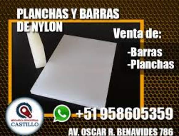 PLANCHAS DE NYLON EN VENTA