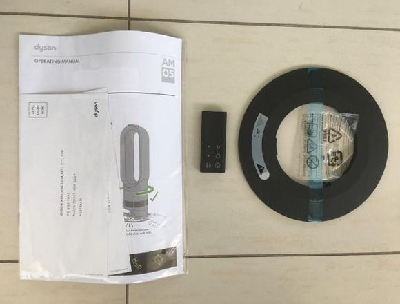 Ventilador Dyson Mod. AM05 HotCool Control Remoto