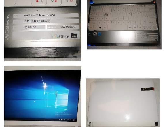 Mini Laptop Gateway Blanca