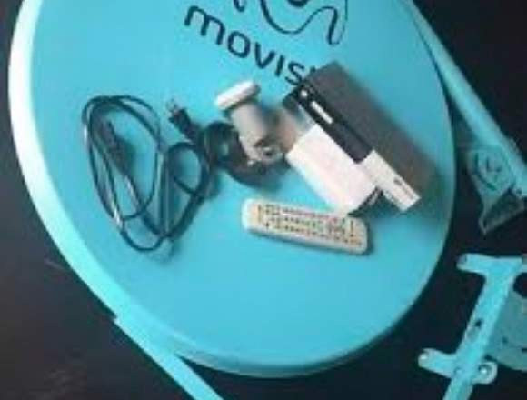 Kit Movistar TV, Decodificador, Control y Antena