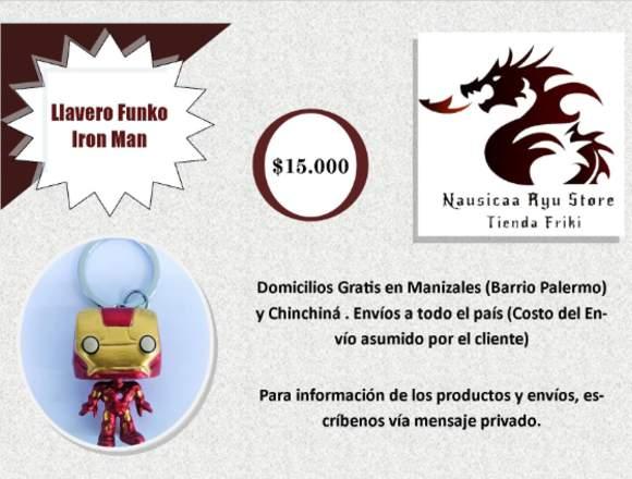 Llaveros Funko Marvel