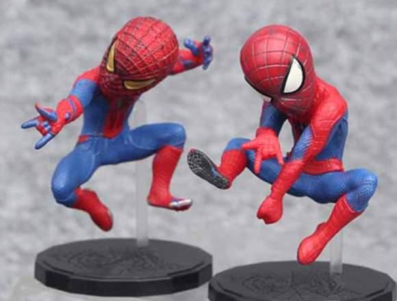 Figuras Spiderman PVC (10cms)