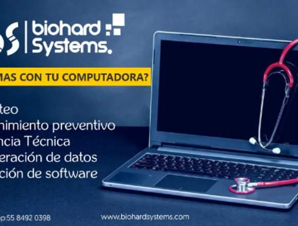 REPARACIÓN  DE COMPUTADORAS Y LAPTOP