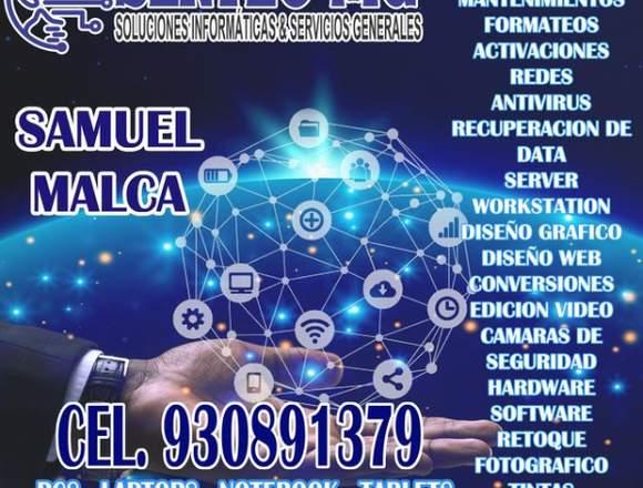 SOPORTE INFORMÁTICO DE COMPUTADORAS y CAMARAS