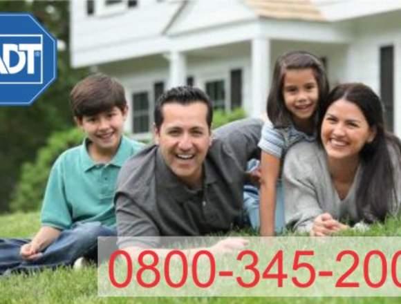 Alarmas para casas ADT 0800-345-2004  0221-4452004