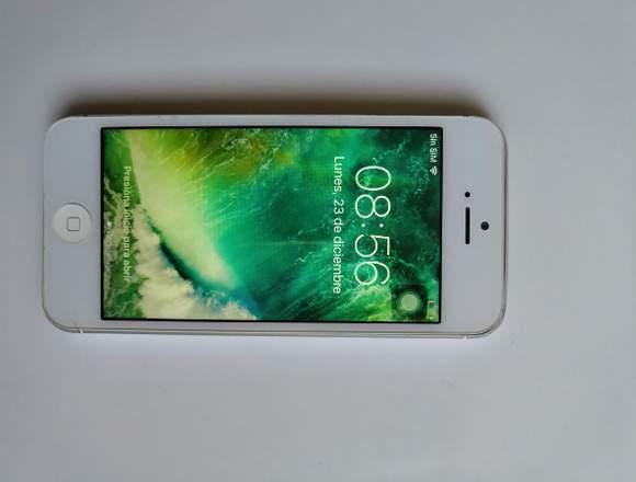 iPhone 5 de 16 GB funcional