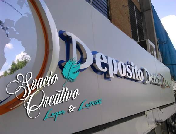 Fabricantes de logos y letras 3D  Iluminacion LED