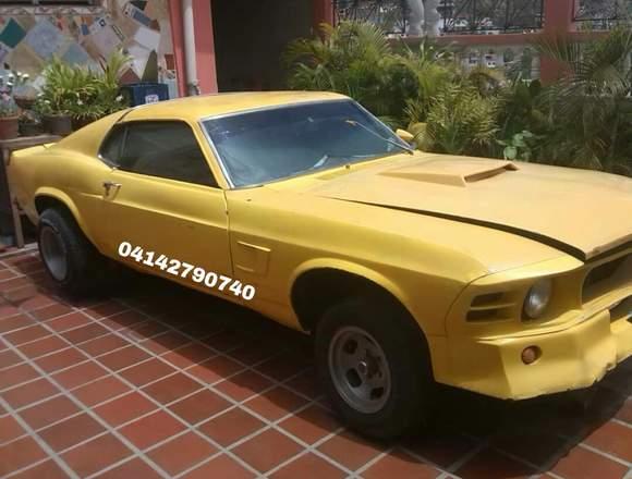 Mustang año 1970 sincrónico