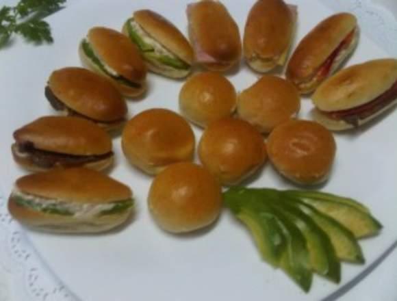 servicio de catering banquetes canapes cebiche