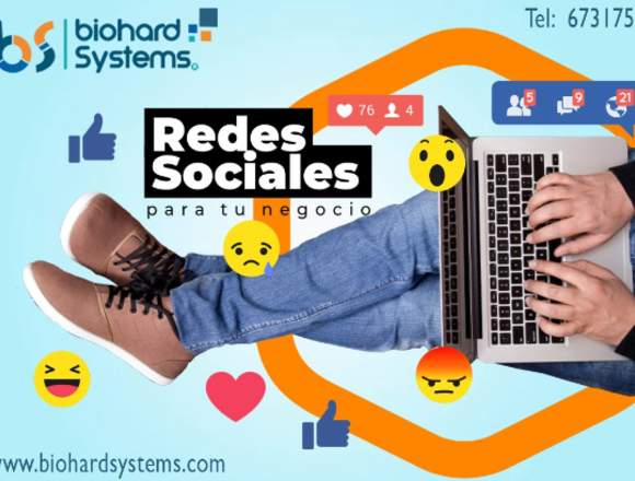 Biohard Systems redes sociales