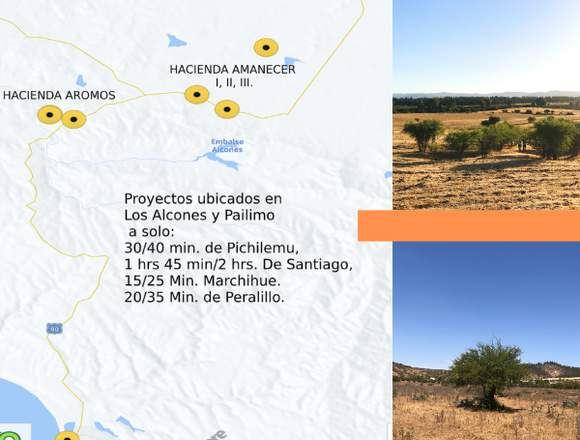 Parcelos cercanos a Pichilemu
