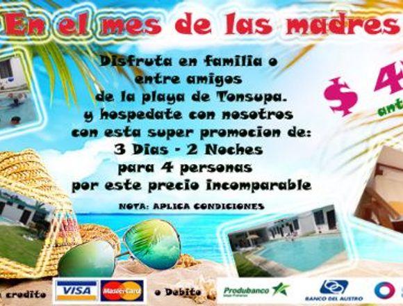 Vacaciones en Tonsupa - Esmeraldas