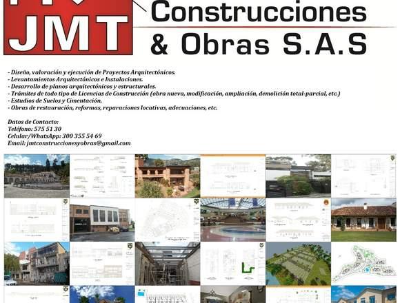 JMT CONSTRUCCIONES Y OBRAS. EMPRESA CONSTRUCTORA