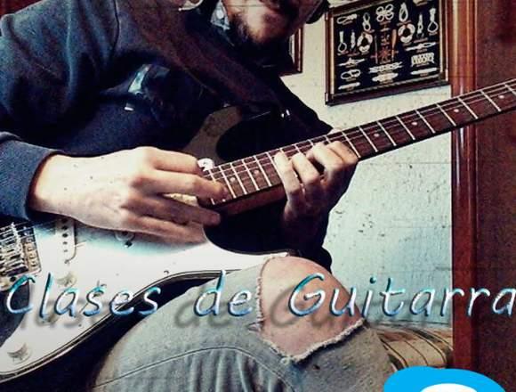 CLASES de GUITARRA en MADRID y SKYPE