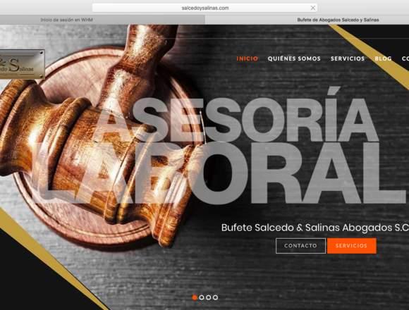Páginas web profesionales