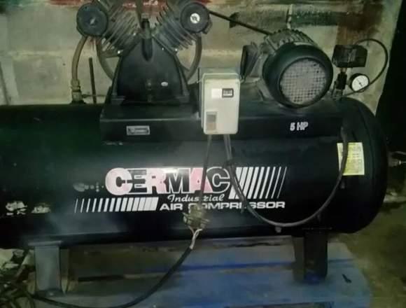 Compresor de aire cermac 5HP