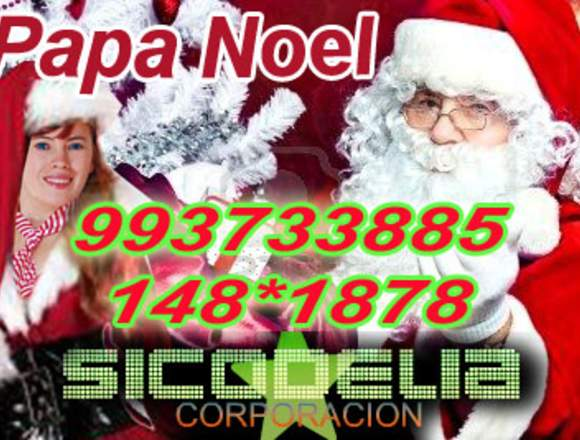 PAPA NOEL VISITA TU HOGAR O EMPRESA 965337970