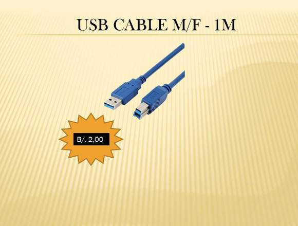 CABLE USB - RED  NUEVO