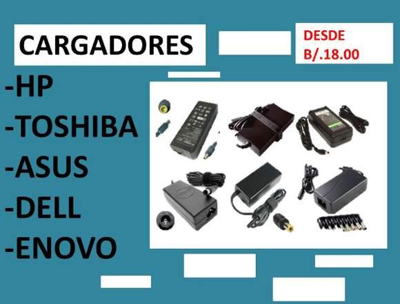 CARGADORES PARA LAPTOS -  NUEVO