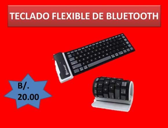 TECLADO FLEXIBLE - BLUETOOTH