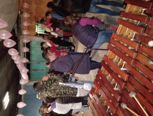 Marimba para eventos sociales