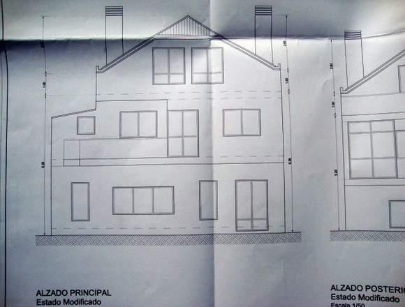 Edificio, apartamentos con local comercial