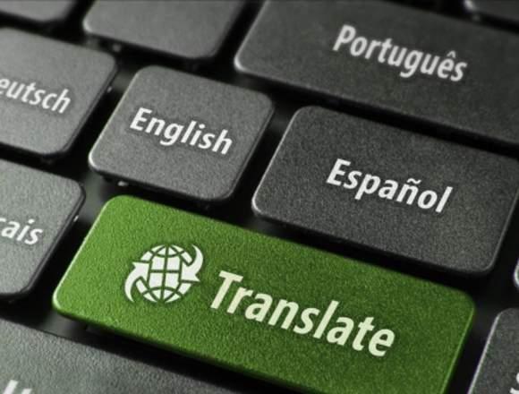 Traducción de español o inglés a árabe y VICEVERSA