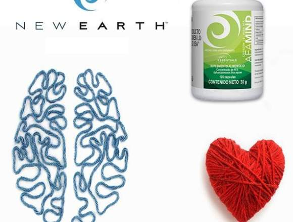 AFAMIND superalimento natural en New Earth Mexico