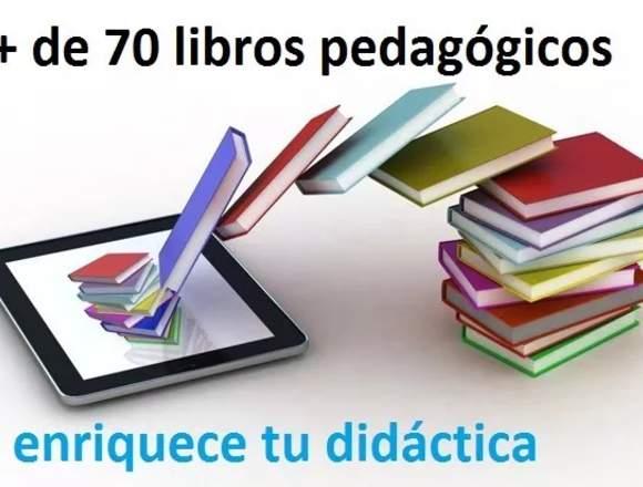 Pack Libros Pedagógicos