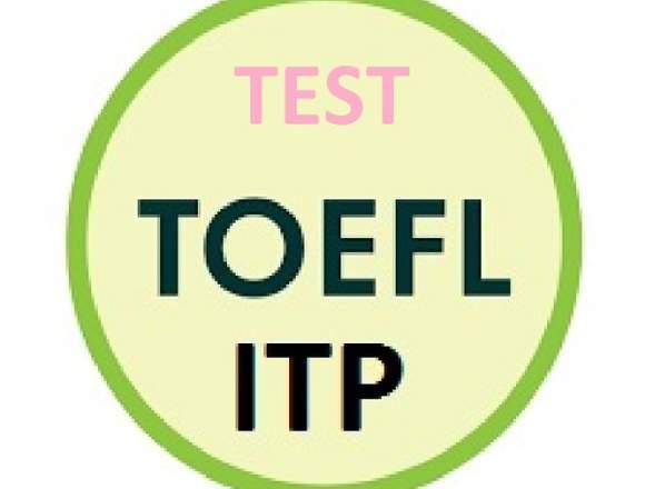 Examen Toefl Itp Pack 1