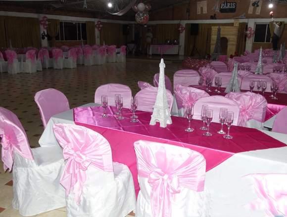 Organización de eventos sociales y empresariales
