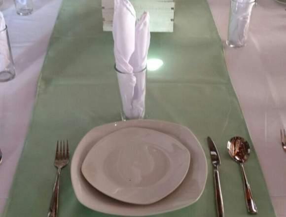 Renta de Vajilla para Banquetes