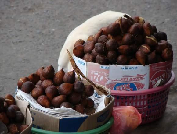 Salak fruta fresca exotica dulce y para la salud