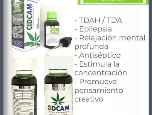 aceite de cannabis cidcam importado