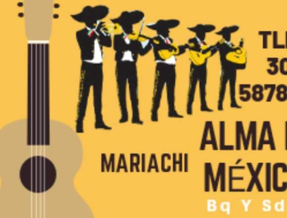 Mariachi ALMA DE MÉXICO Bq y Sd