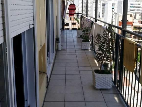 4 ambientes amplios balcón corrido