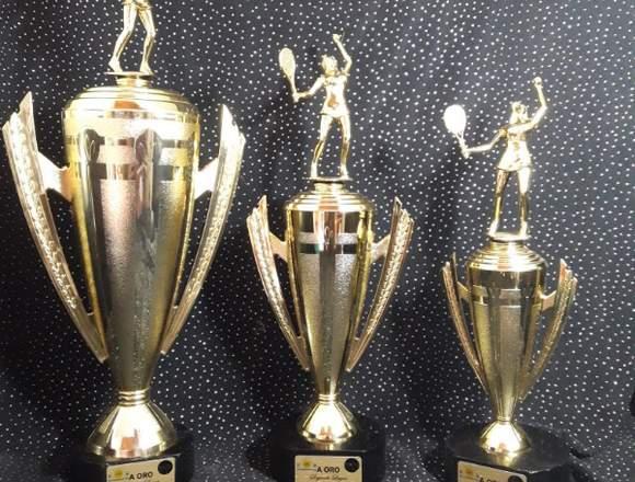 Trofeos de campeonato y mucho más