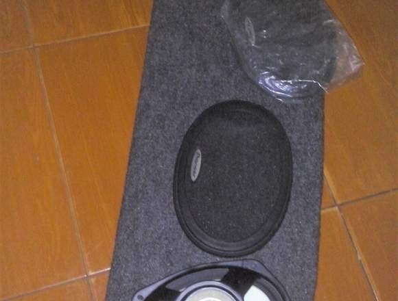 Tabla Tapicería Porta Cornetas Triaxiales Chevette
