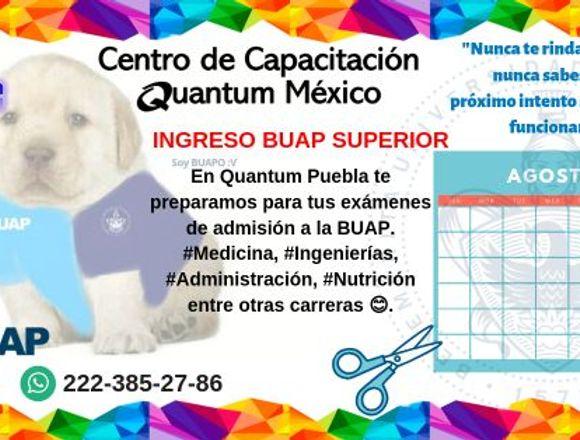 Curso de ingreso a BUAP